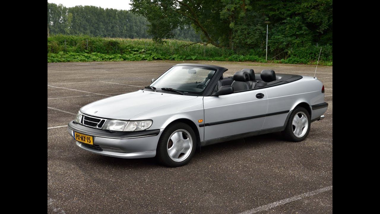 saab 900 cabriolet youtube. Black Bedroom Furniture Sets. Home Design Ideas