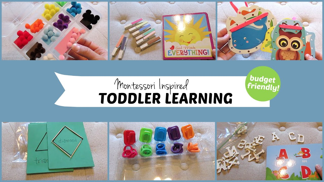 10 Montessori Inspired Toddler Learning Activities