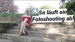 Ein EINBLICK in eins meiner FOTOSHOOTINGS - Vlog
