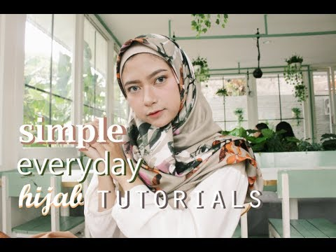 4 SIMPLE DAILY HIJAB TUTORIALS | by life of lavi