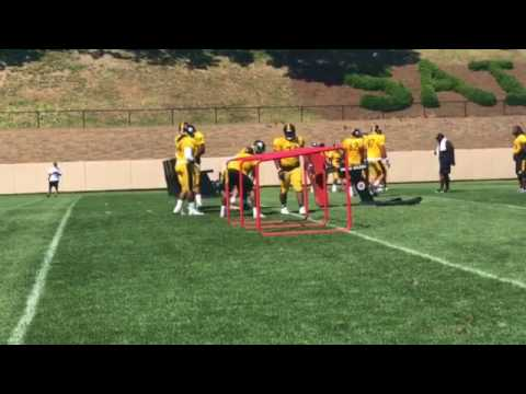 Scenes from Steelers camp: Day 4