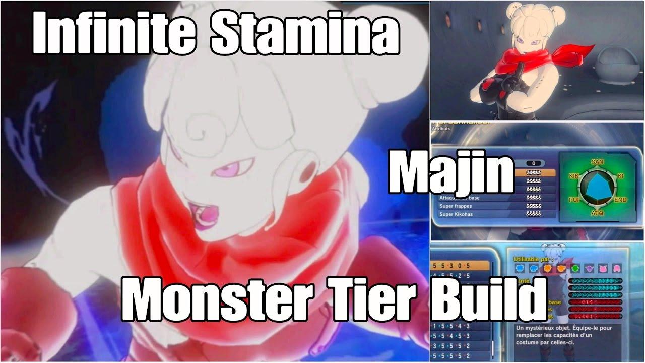 Xenoverse  Build Stamina