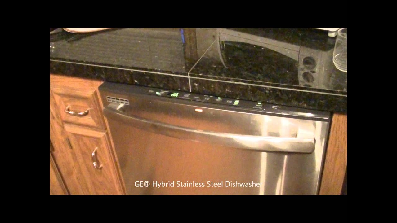 how to make a ge dishwasher drain