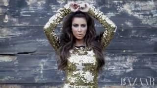 Baixar Kim Kardashian for Harper's Bazaar Arabia October 2011
