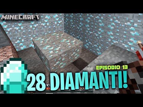 HO TROVATO 28 DIAMANTI!! Minecraft ITA #12 W/ zAdry96