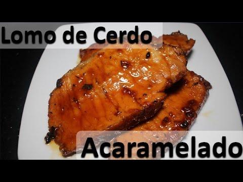 Receta De Lomo De Cerdo Acaramelado Fácil Receta Para Navidad Facil 2021 Youtube