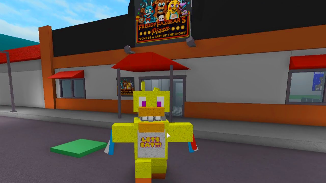 Roblox Five Nights At Freddy S Animatronic World Fnaf Roleplay