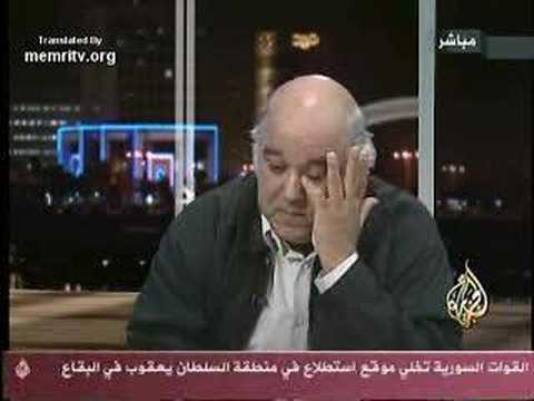 Egyptian Intellectual speaks about Arab Culture