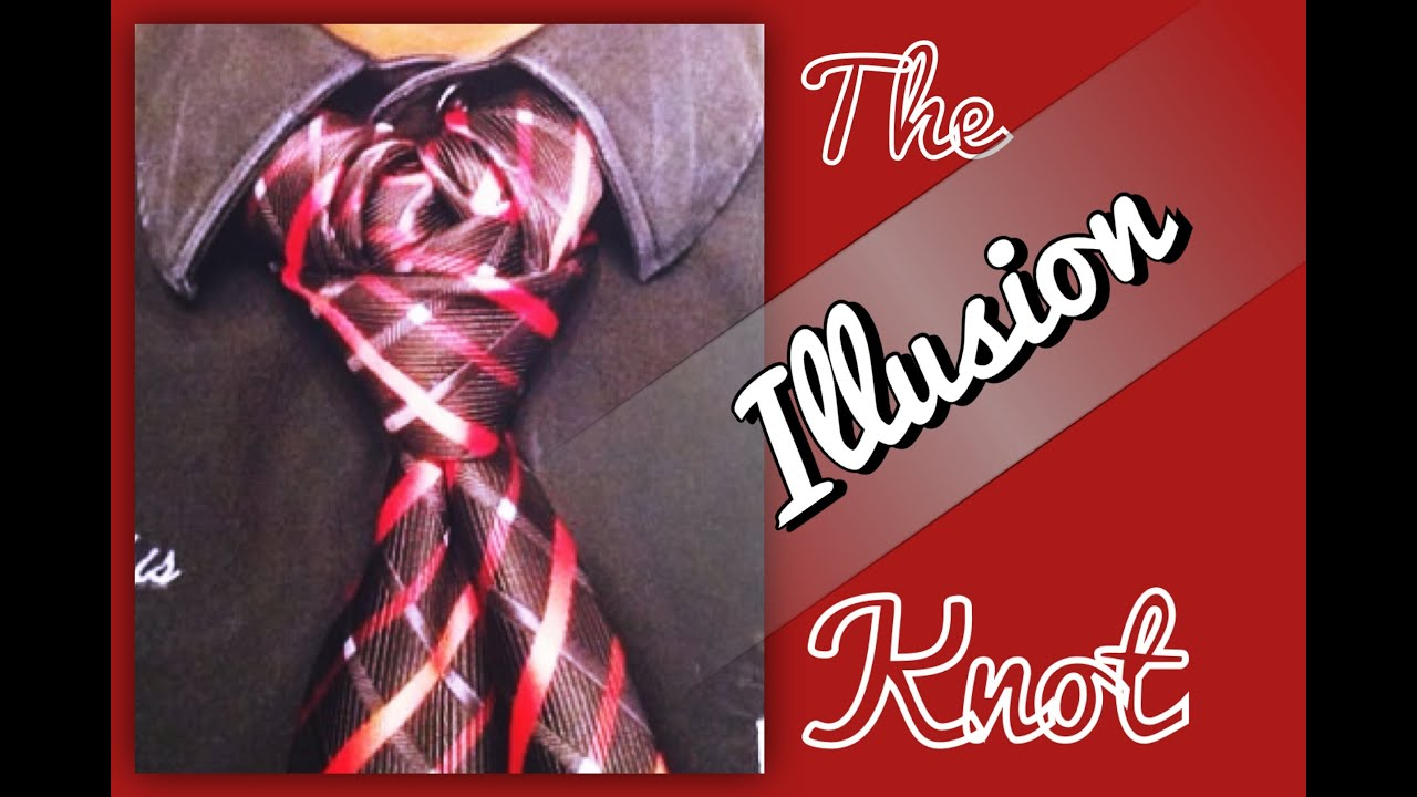 How to tie a tiethe illusion knot youtube ccuart Image collections