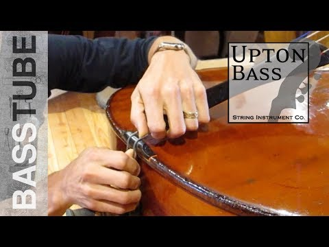 How To Check Your Double Bass Tailpiece For The Best Tone On Your Upright Bass