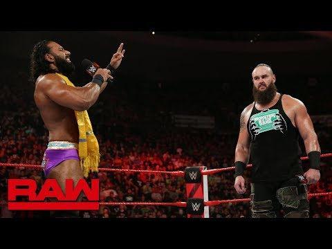 Jinder Mahal tries to help Braun Strowman control his temper: Raw, July 23, 2018
