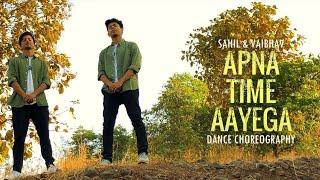 Apna Time Aayega | Gully Boy - DIVINE | Dance Choreography | Sahil | Vaibhav | IIT Bombay