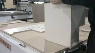 Thermwood Ecabinet Systems Base Corner Cabinet Assembly