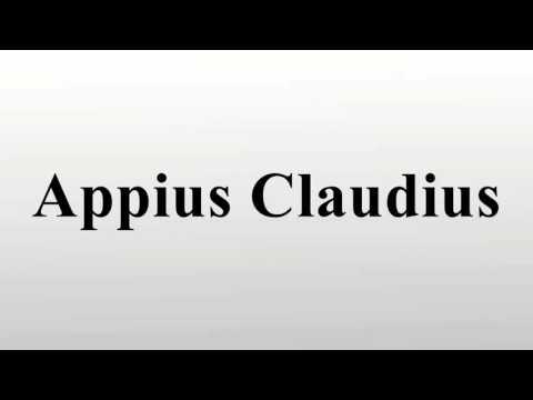 Appius Claudius