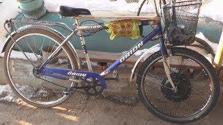 Электровелосипед Из Дорожного Велосипеда
