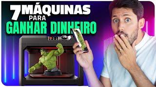 7 MÁQUINAS BARATAS PARA FAZER  RENDA EXTRA E GANHAR DINHEIRO
