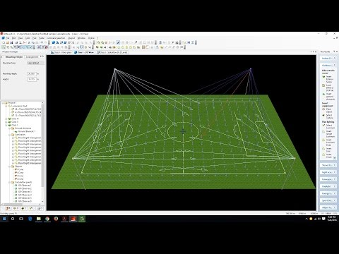Football Lighting Design Calculation (Part 1)