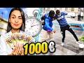 J'OFFRE 1000 EUROS À CELUI QUI LUI PREND LA BALLE!
