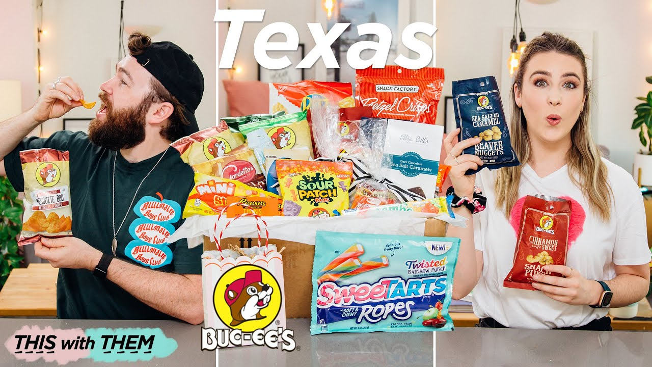 Trying Buc-ee's for the first time! Texas Candy! - This With Them