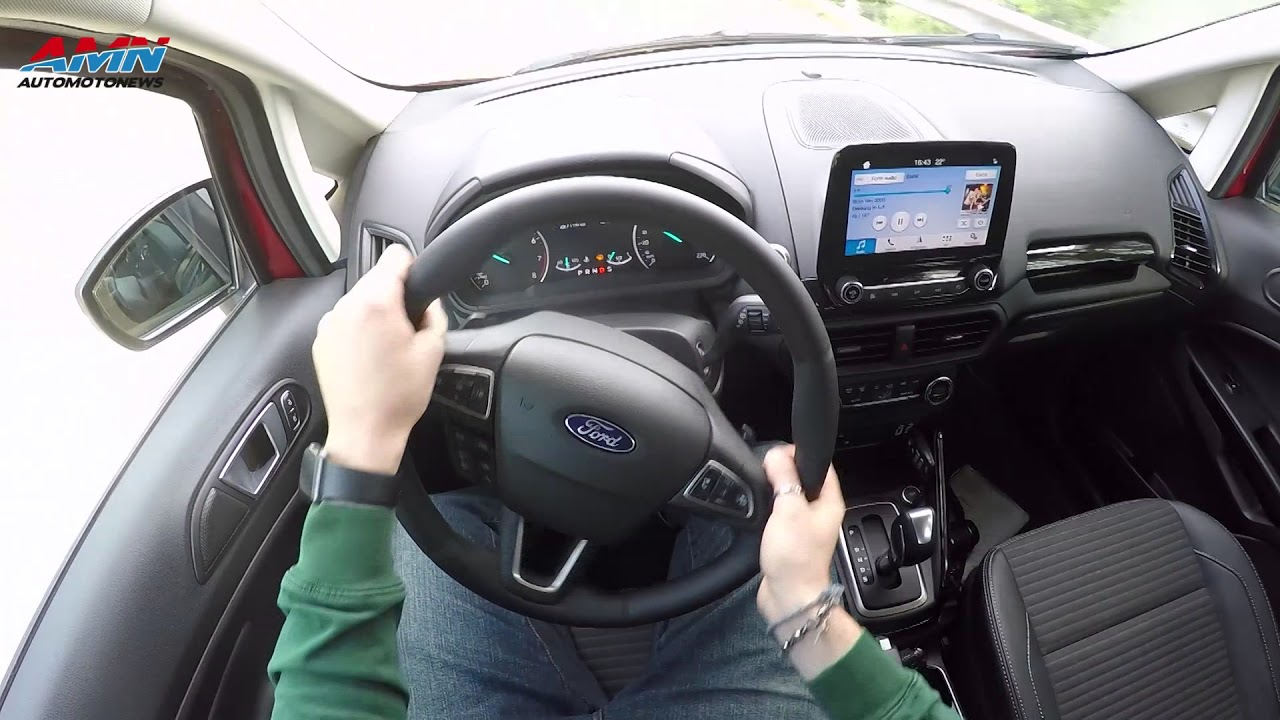 Long Test Nuova Ford Ecosport 1 0 Ecoboost 125 Cv Titanium Youtube