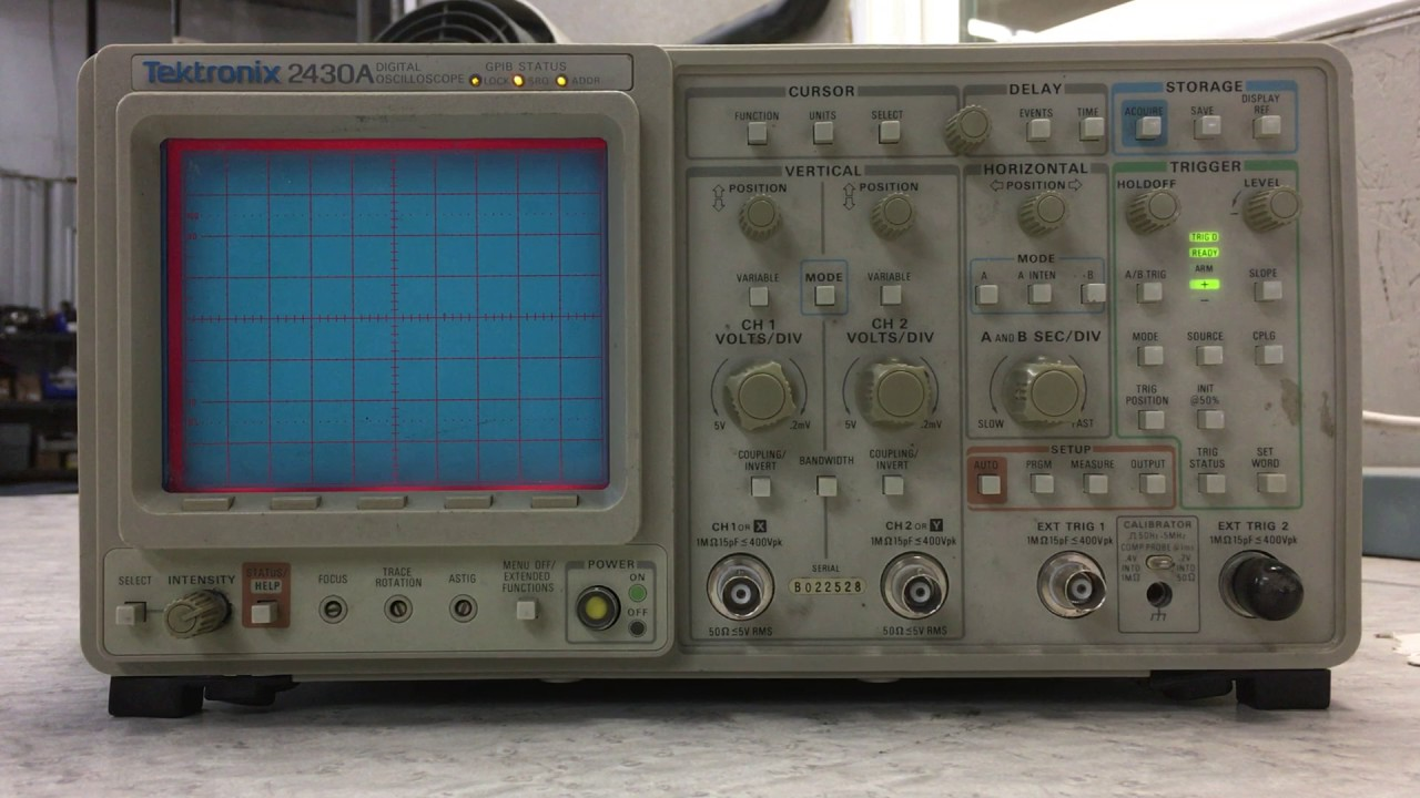 Tektronix oscilloscope parts