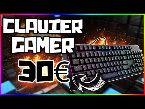 TOP 3 DES CLAVIERS GAMER A 30€ !