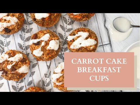 Carrot Cake Breakfast cups