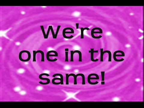 Selena Gomez and Demi Lovato- One and the same (lyrics on screen)