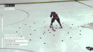 Хоккей. Не вероятные трюки сразу видно профессионал.