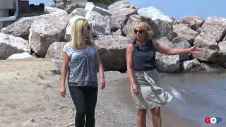 Sen. LaSata: New Buffalo Shoreline Erosion