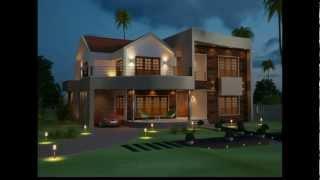 Beatiful Kerala Home Contemporary