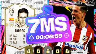 HILARIOUS GAME!! 85 ICON FERNANDO TORRES 7 MINUTE SQUAD BUILDER!! - FIFA 21 ULTIMATE TEAM