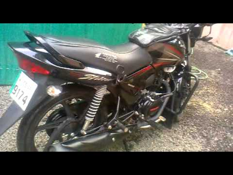NEW HONDA CB SHINE 125cc (lalunhsiv) - YouTube