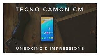 TECNO Camon CM Impressions