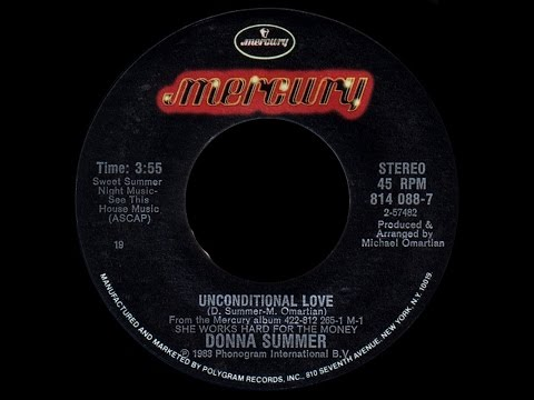 Donna Summer ft Musical Youth ~ Unconditional Love 1983 Disco Purrfection Version