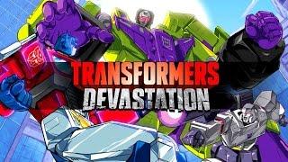 Transformers: Devastation - PC Gameplay