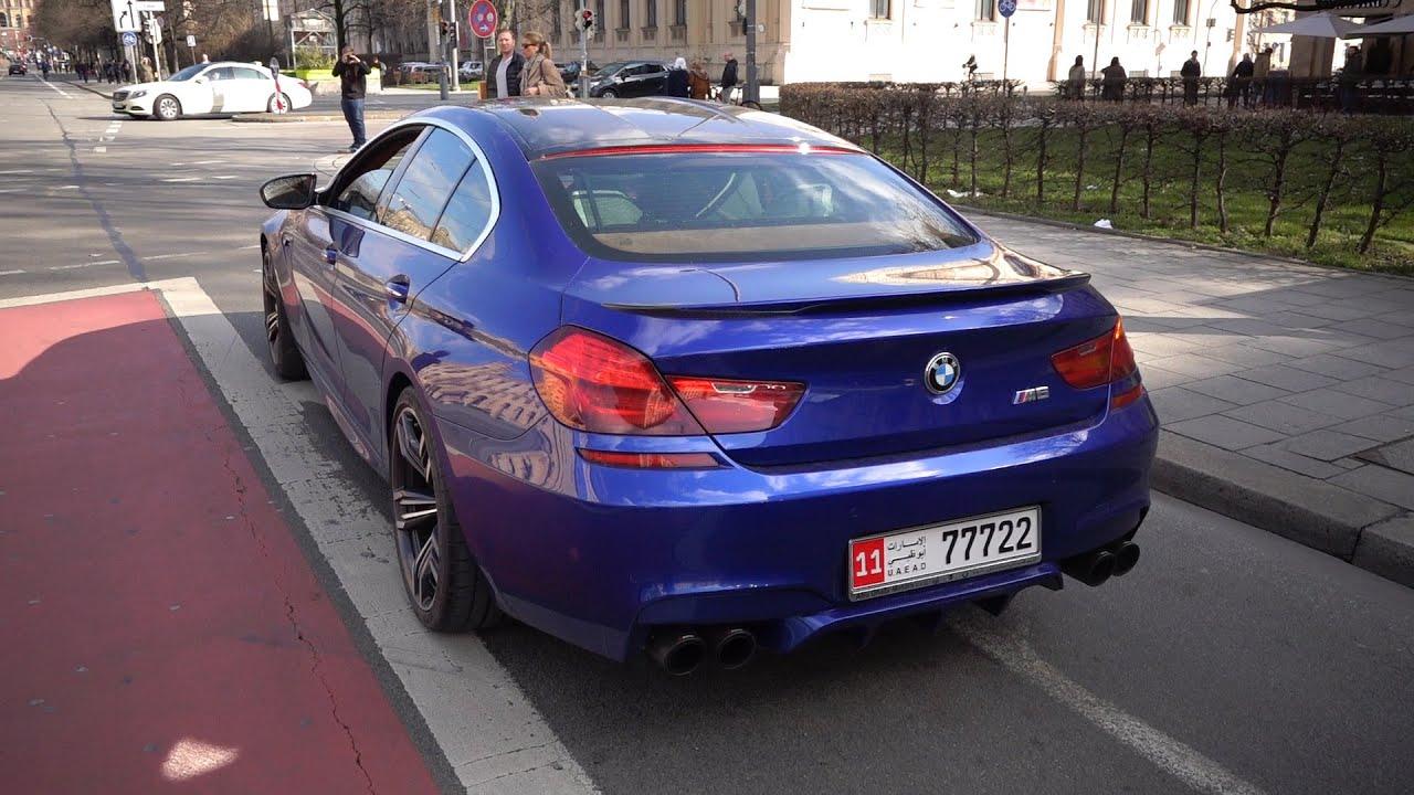 800hp BMW M6 Gran Coupe W Akrapovic Exhaust