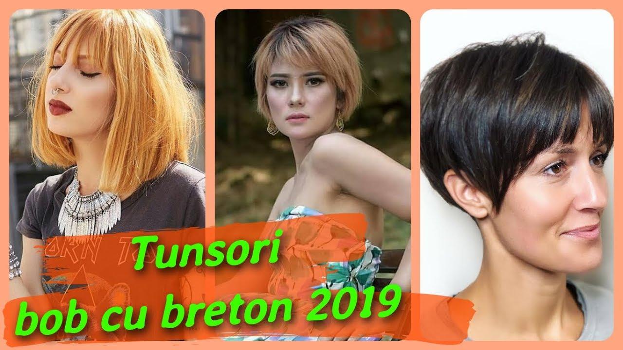 Top 20 Modele De Tunsori Bob Cu Breton 2019 Youtube