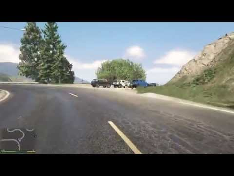 """GTA V - """"Stop the vehicle right now!"""""""