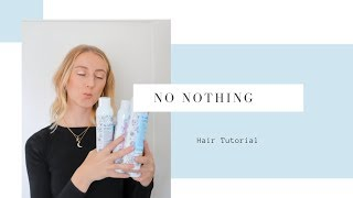 Fall Hair Tutorial feat. No Nothing Haircare