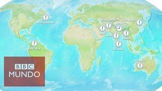 Husos horarios: ¿Qué países no siguen el Tiempo Medio de Greenwich?