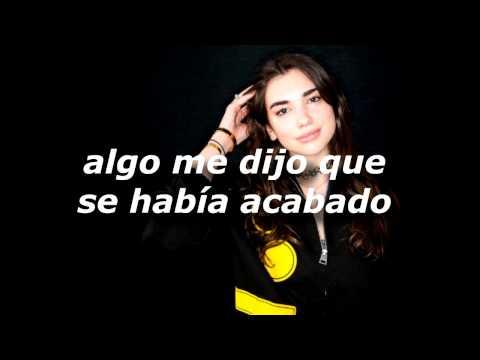 Dua Lipa - I Would Rather Go Blind (español)