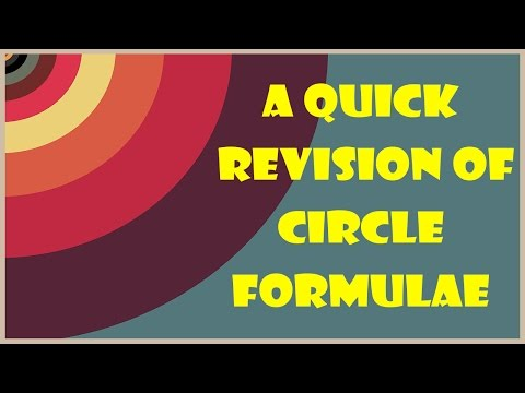 Amazing Tricks To Understand Circles Formulas - Geometry - Math - LetsTute - 동영상