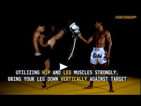 Axe Kick: instructional