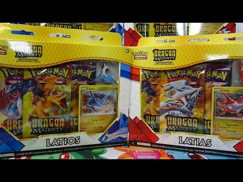 Opening 6x  Pokemon Dragon Majesty Pin Collection Boxes