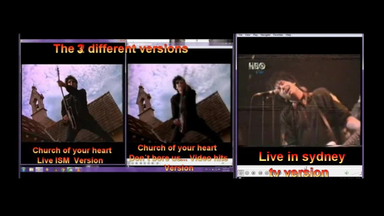 Roxette Chrurch of your heart comparing 3 versions - YouTube