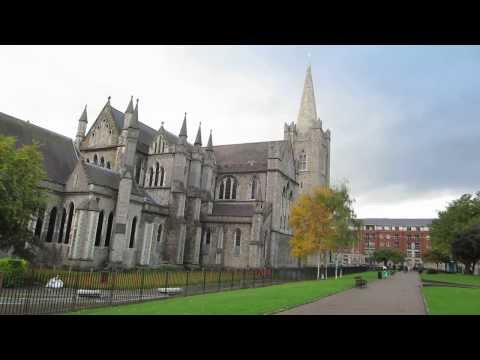 Happy Saint Patrick's Day from St. Patrick's Cathedral in Dublin, Ireland, Northern Europe