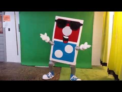 Custom Donny Domino Mascot costume: AMAZING!! Mascots