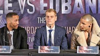 James DeGale vs. Chris Eubank Jr FULL PRESS CONFERENCE | ITV Box Office