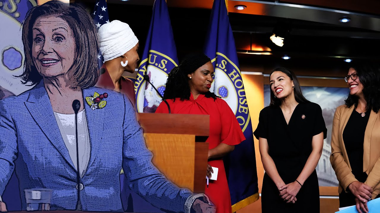 """DC Shorts House Speaker Pelosi and The """"Squad"""", The Thorn In Her Side"""